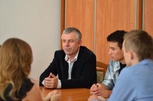 Spotkanie z uczestnikami wyjazdu do CERN.