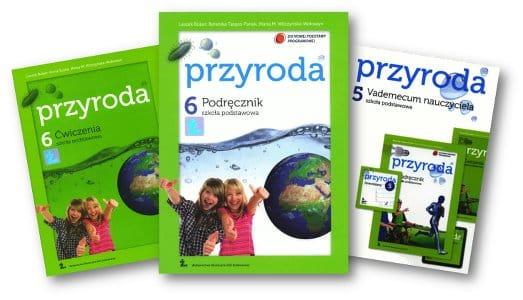 Przyroda 6. Szkoła Podstawowa. Leszek Bober