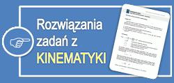Rozwiązania zadań z kinematyki - gimnazjum
